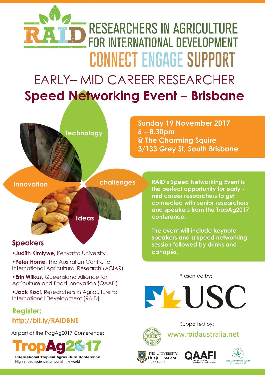 Speed networking event – Brisbane (Sun 19th Nov)
